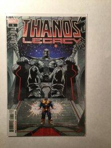 Thanos Legacy 1 Near Mint Nm Marvel