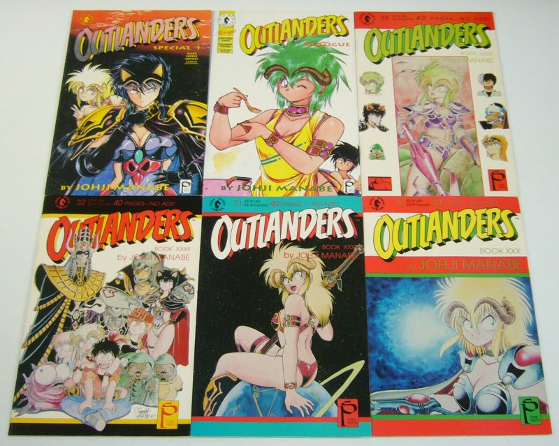 Outlanders #0 & 1-33 VF/NM complete series + epilogue + special - studio proteus