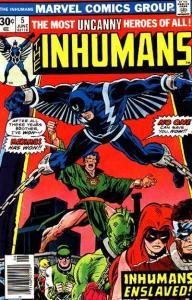 Inhumans (1975 series) #5, Fine- (Stock photo)