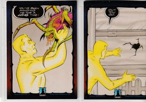 Dark Dominion # 0 Trading Cards  Rare Steve Ditko painted art ! 144 cards