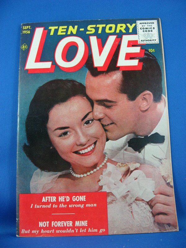 TEN STORY LOVE Vol 33 #2 VF 1953 Photo Cover