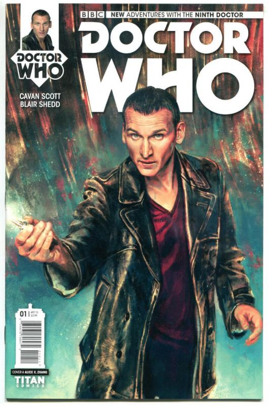 DOCTOR WHO #1 A, NM, 9th, Tardis, 2015, Titan, 1st, more DW in store, Sci-fi