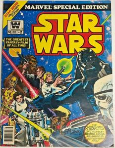 MARVEL SPECIAL EDITION TREASURY#2 FN STAR WARS WHITMAN BRONZE AGE COMICS