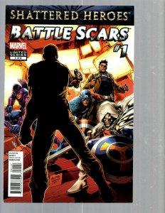 10 Comics Battle Scars #1-6 Hulk Smash Avengers #1 2 Secret Warriors #1 2 J448