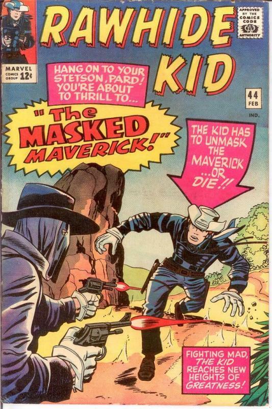RAWHIDE KID (1960-1979) 44 GOOD   February 1965 COMICS BOOK