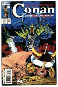CONAN THE BARBARIAN #271 comic book 1993-MARVEL COMICS-HTF-Low Print