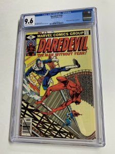 Daredevil 161 Cgc 9.6 Ow/w Pages Bullesye Frank Miller Marvel 2061440023