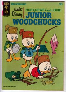 Huey Dewey and Louie Junior Woodchuks #1 (Aug-66) FN/VF Mid-High-Grade Huey D...