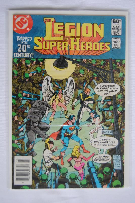 Legion of Super-Heroes 281