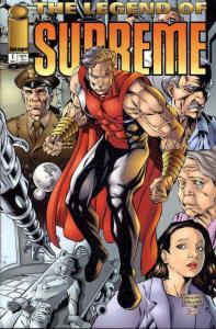 Legend of Supreme #1 VF/NM; Image | save on shipping - details inside