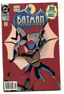Batman Adventures #11 1993 comic book DC-RARE Newsstand VARIANT