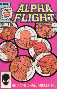 ALPHA FLIGHT (1983-1990)  25 diff Instant Collection