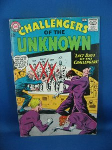 CHALLENGERS OF THE UNKNOWN 37 VG+ 1964
