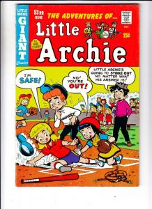 Little Archie, The Adventures Of #53 (May-69) VG+ Affordable-Grade Little Arc...