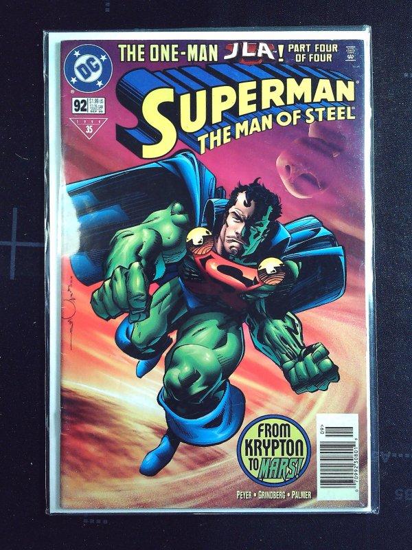 Superman: The Man of Steel #92 (1999)