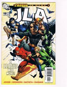 JLA # 119 DC Comic Books Awesome Issue Superman Batman Wonder Woman WOW!!!!! S24