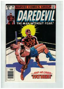 DAREDEVIL 164 VG-F May 1980 Miller classic