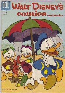 Comics and Stories, Walt Disney's  # 201  strict  VG/FN  artist  Carl Barks