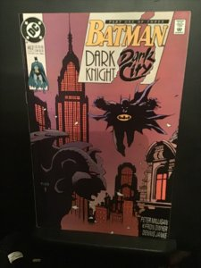 Batman #50  high-grade dark Knight dark city key! NM- Wow!