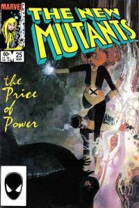 New Mutants (1983 series) #25, VF- (Stock photo)