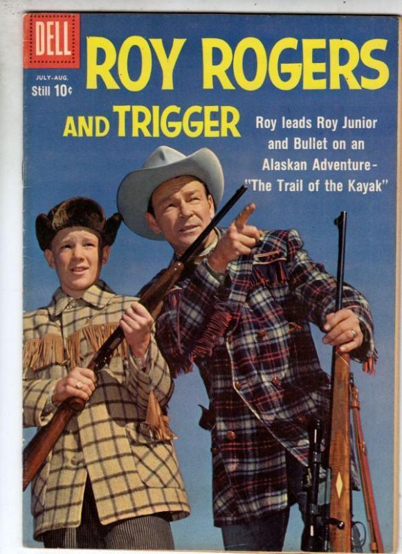Roy Rogers and Trigger 132 strict VF- 8.0 1959   more Westerns at Kermitspad