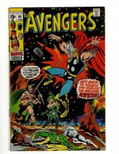 Avengers # 84 VF Marvel Comic Book Hulk Thor Captain America Iron Man OF2