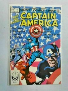 Captain America Annual #6 DIR 8.5 VF+ (1982)