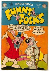 Hollywood Funny Folks #51 1953- Nutsy Squirrel- VF-