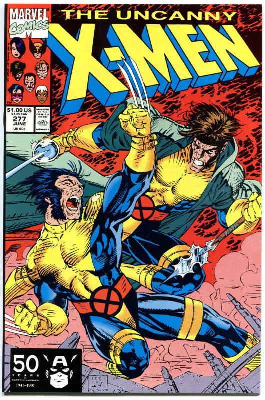 X-MEN 277, NM+, Wolverine, Claremont, Jim Lee, Gambit, Uncanny, more in store