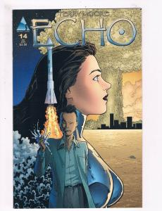 Echo # 14 NM 1st Print Abstract Studio Comic Book Terry Moore Series Issue S59