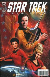 Star Trek: Year Four #6B VF/NM; IDW | save on shipping - details inside