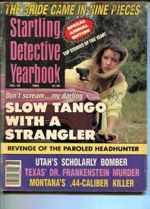 STARTLING DETECTIVE YEARBOOK-/1988-BRIDE CAME IN NINE PIECES-SCHOLARLY BOMBER VG