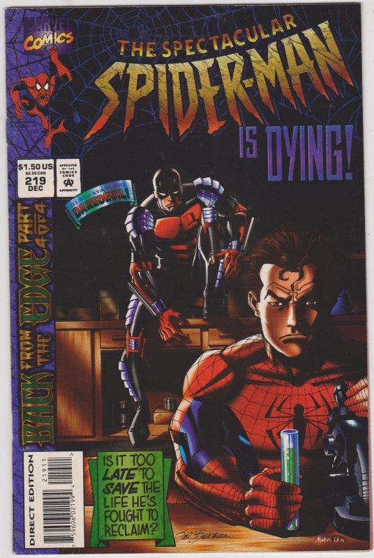 Spectacular Spider-Man #219
