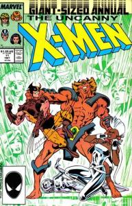 X-Men (1963 series) Annual #11, VF+ (Stock photo)