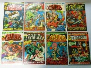 Bronze Age Marvel Comics Horror Creatures The Loose Lot 20 Diff 4.0-6.0 (1971)