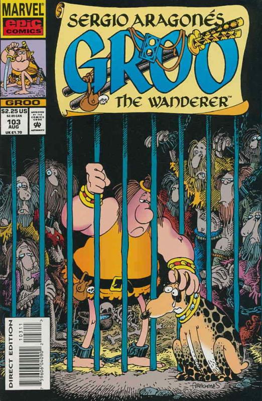 Groo the Wanderer #103 VF/NM; Epic | save on shipping - details inside