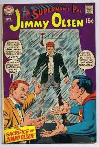Superman's Pal Jimmy Olsen #123 ORIGINAL Vintage 1969 Comics