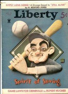 Liberty April 20 1935- Gypsy Love Song- H Bedford-Jones VG