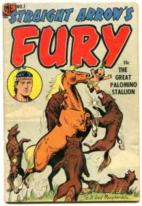 Straight Arrow's Fury #1 1954- Golden Age Western VG+