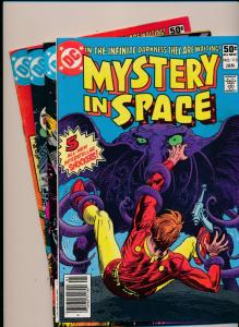 DC SET MYSTERY IN SPACE #114-117  VERY GOOD/FINE/VERY FINE  (HX801)