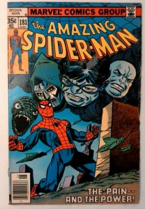 Amazing Spider-Man #181 Marvel 1978 FN/VF Bronze Age Comic Book 1st Print