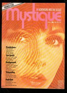 MYSTIQUE MAGAZINE #1-APRIL 1973-OCCULT-ESP-JEAN DIXON VF