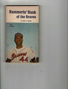 3 Books Hammerin' Hank of Braves They Came to Cordura Corpse that Spoke JK24