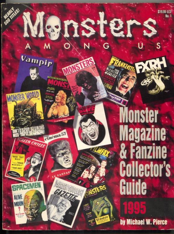 Monster Among Us Monster Magazine & Fanzine Collector's