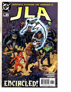 Lot Of 6 JLA DC Comic Books # 98 99 100 101 102 103 Batman Superman Flash J263