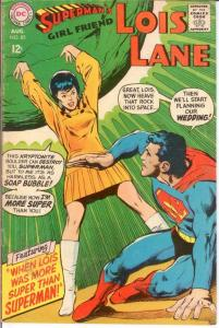LOIS LANE 85 VG-F Aug. 1968 COMICS BOOK