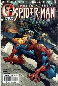 Peter Parker: Spider-Man #46 (1999 v1) Humberto Ramos Green Goblin NM