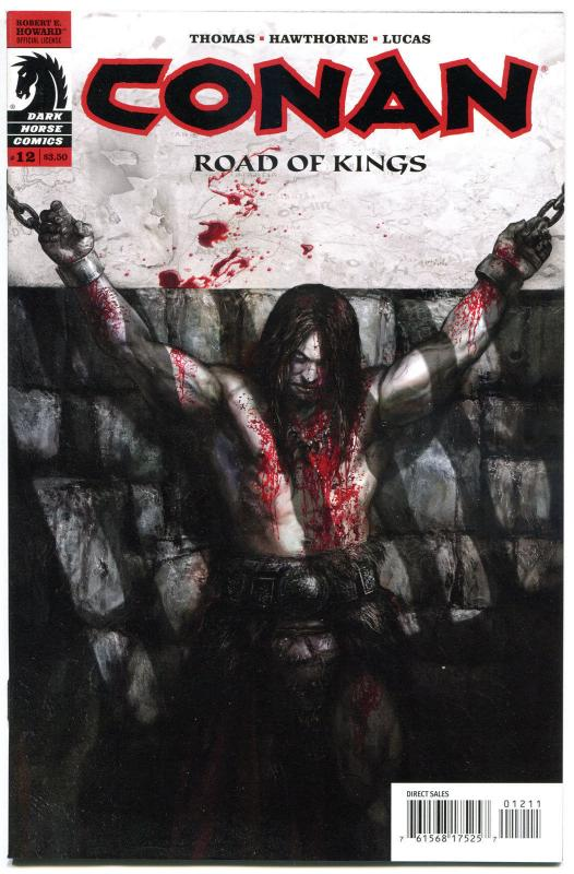 CONAN in ROAD of KINGS #12, NM,  Roy Thomas, 2011, more Conan in store