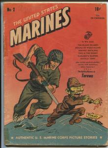 United States Marines #2 1944-ME-WWII-brutal war photos-Carlson's Raiders-G/VG