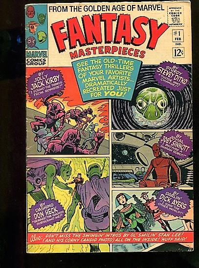 FANTASY MASTERPIECES  #1  (1964)  6.0  (FINE)  OW/W PAGES